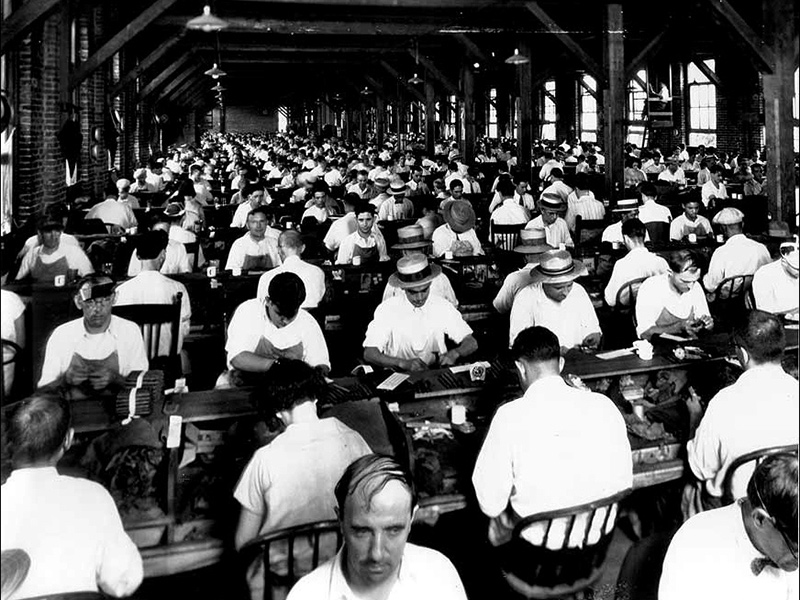 cigar workers